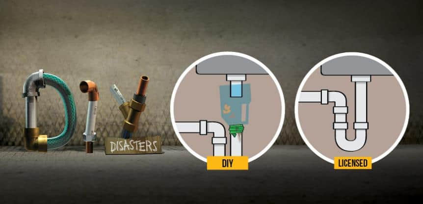 DIY hero banner - Plumbing Problems You Shouldn't Fix Yourself