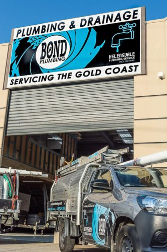 Bond Plumbing - servicing the Gold Coast since 1986